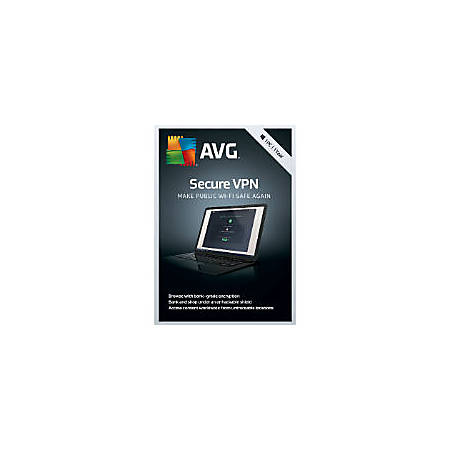 AVG Secure VPN 2019, 1 PC 1 Year (Windows)
