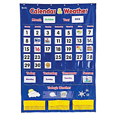 Learning Resources Calendar And Weather Pocket