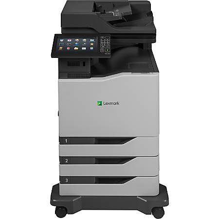 Lexmark CX825DTE Color Laser All-In-One Printer, 42K0041