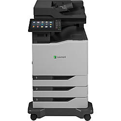 Lexmark CX825dte Laser Multifunction Printer Color