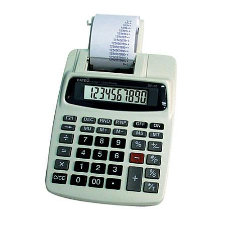 Datexx DP-30AD 10-Digit Printing Calculator