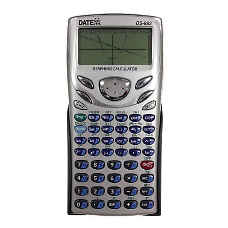 Teledex Datexx DS-883 Scientific Graphing Calculator