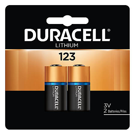 Duracell® 3-Volt Photo Batteries, Pack Of 2