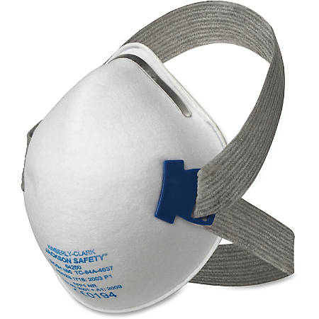 Jackson Safety N95 Particulate Respirator - Adjustable Head Strap, Comfortable, Latex-free, Exhalation Valve, Non-irritating - Particulate, Dust, Fog Protection - Foam Nose Pad, Cloth - White - 20 / Box