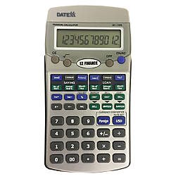 Datexx DH 170FS EZ Financial Calculator