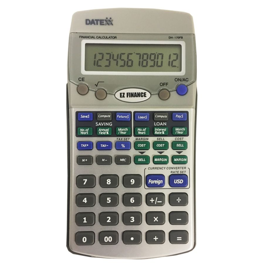 Datexx Dh Fs Ez Financial Calculator By Office Depot  Officemax