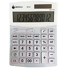Datexx DD 770 Desktop Calculator
