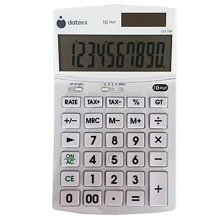 Datexx DD-760 Desktop Calculator