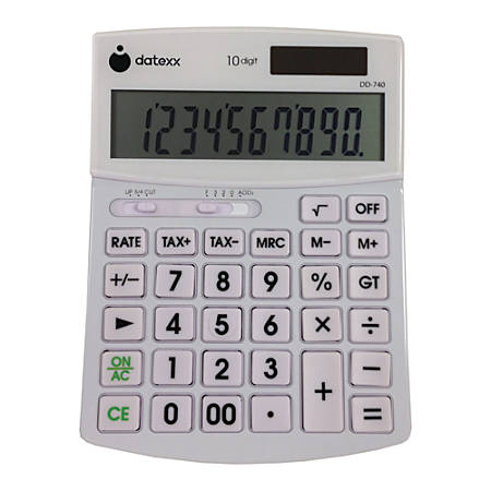Datexx DD-740 Desktop Calculator