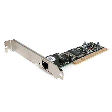 StarTech.com Ethernet network adapter card - PCI - EN; Fast EN - 10Base-T; 100Base-TX