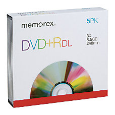 Memorex Double Layer DVDR Recordable Media