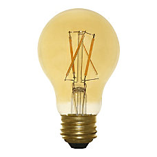 Euri A19 Amber Glass Dimmable 670