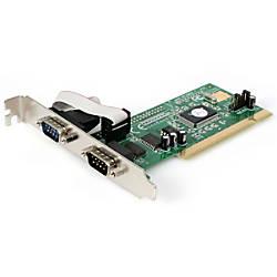 StarTechcom 2 Port PCI RS232 Serial