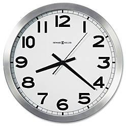 Howard Miller Round Wall Clock Analog