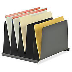 MMF Angled Desk Organizer 5 Pockets