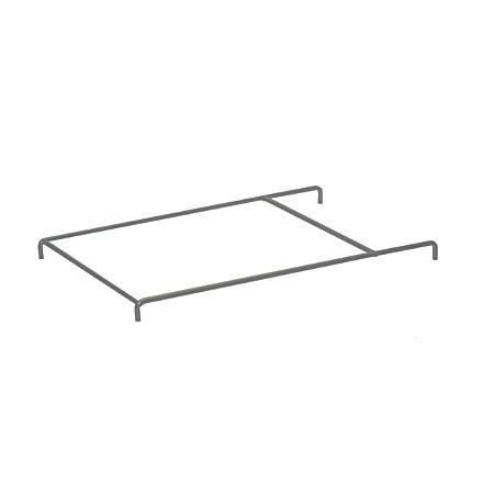 "StorSystem Filing Frame For StorSystem Quad Depth Trays, Letter Size, 1/2""H x 1""W x 12 5/16""D, Light Gray"
