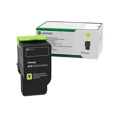 Lexmark™ 78C1UY0 Ultra-High-Yield Return Program Yellow Toner Cartridge