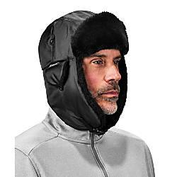5eb57800 Ergodyne N Ferno Nylon Trapper Hat XS Black - Office Depot