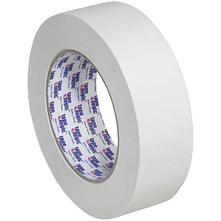 "Tape Logic® 2400 Masking Tape, 3"" Core, 1.5"" x 180', Natural, Pack Of 12"