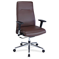 Lorell Leather Suspension Chair Bonded Leather