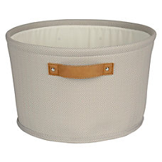 Realspace Medium Canvas Storage Bin 8