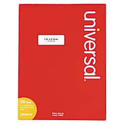 Universal Permanent Labels UNV80120 1 x