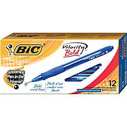 BIC Gel ocity Ballpoint Pens Bold