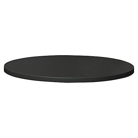 """Mayline Bistro Tabletop, Round, 36"""" Diameter, Anthracite"""