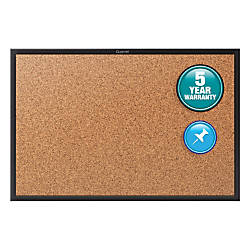 Quartet Cork Bulletin Board 5 x