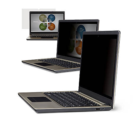 """3M™ Privacy Filter Screen for Laptops, 15.4"""" Widescreen (16:10), PF154W1B"""