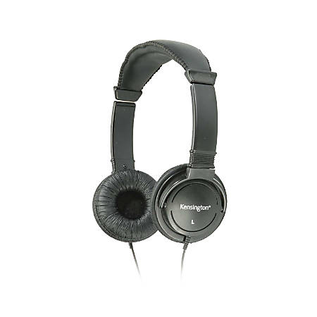 Kensington® Hi-Fi Over-The-Head Headphones