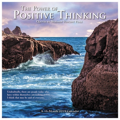 Day Dream The Power Of Positive Thinking Monthly Wall Calendar 12 X
