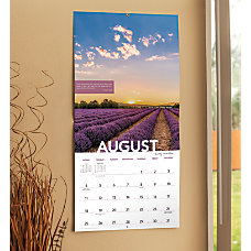 Landmark Psalms Monthly Wall Calendar 12