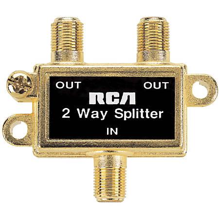 RCA VH47N 2-Way Signal Splitter