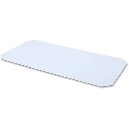 """Lorell® Acrylic Shelf Liner For Industrial Wire Shelving, 36""""W x 18""""D, Clear"""