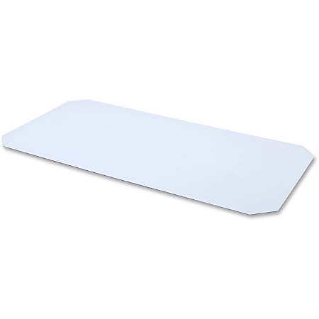 """Lorell® Acrylic Shelf Liner For Industrial Wire Shelving, 48""""W x 18""""D, Clear"""