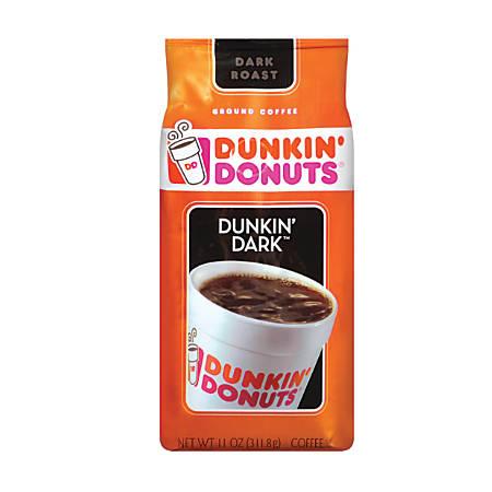 Dunkin' Donuts® Dunkin' Dark Coffee, 11 Oz
