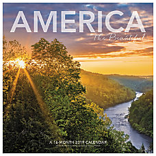 Landmark America The Beautiful Monthly Wall