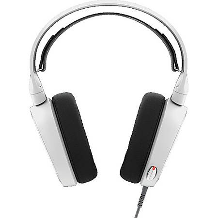 SteelSeries Arctis 5 7.1 Surround RGB Gaming Headset - Stereo - Mini-phone, USB - Wired - 32 Ohm - 20 Hz - 22 kHz - Over-the-head - Binaural - Circumaural - 9.84 ft Cable - White