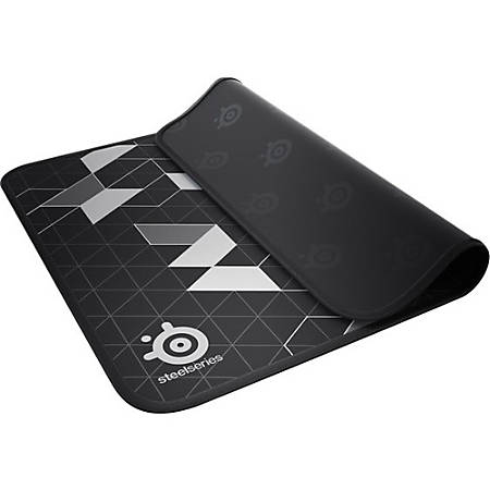 "SteelSeries QcK Limited Gaming Mousepad - 10.6"" x 12.6"" x 0.1"" Dimension - Black - Cloth, Rubber Base - Anti-slip"