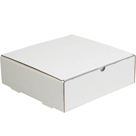 """Office Depot® Brand Literature Mailers, 3"""" x 10"""" x 10"""", White, Pack Of 50"""