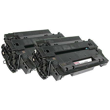 Office Depot® Brand OD55XDP (HP 55X / CE255X) High-Yield Remanufactured Black Toner Cartridges, Pack Of 2