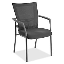 Lorell MeshFabric Mid Back Guest Chair