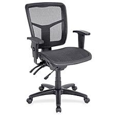 Lorell Ergonomic Mesh Mid Back Chair