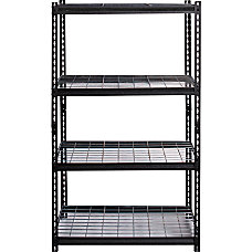 Lorell Wire Deck Shelving 72 Height