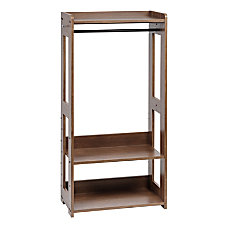 IRIS Compact Wood Garment Rack 47