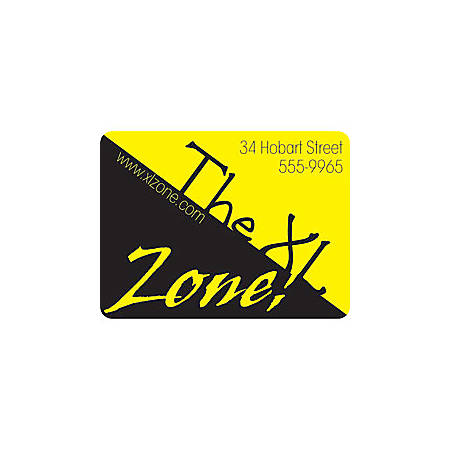 """Custom 1-Color Advertising Labels, Rectangle, 1-1/2"""" x 2"""", Roll Of 250 Labels"""