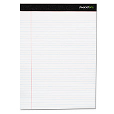 Universal Premium Ruled Writing Pads 8