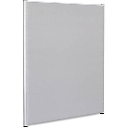 "Lorell® Panel System Fabric Panel, 72""H x 48""W, Gray"