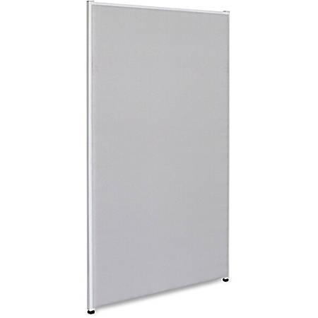 "Lorell® Panel System Fabric Panel, 72""H x 36""W, Gray"
